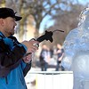 Stomper ice sculpture 2