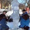 Stomper ice sculpture 1