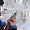 Stomper ice sculpture 9