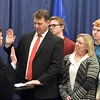 Sen. Frentz swearing in 1