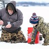 Twins ice fishing 3