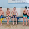 Boys in the Fit Kids after-school program wait to go into the swimming pool at the Lake Crystal Area Recreation Center on Friday. Photo by Jackson Forderer