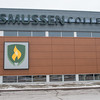 The new Rasmussen College sign on the outside of Madison East. Photo by Jackson Forderer