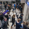 People buy tickets and wait in the security line in the lobby at Verizon Center before the Minnesota State men's hockey team took on Michigan Tech on Friday. Photo by Jackson Forderer