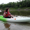 """Getting started proved to be a bit tricky. But after the first 15 minutes, I finally got a feel for my kayak and how to maneuver down the Minnesota River on a Bent River Outfitters """"Happy Hour Paddle."""""""