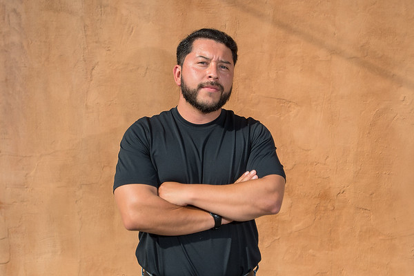 Julio Zelaya has worked for the ACLU office in Mankato for the past two and a half years. Zelaya was born in Los Angeles but moved with his parents to St. James where he grew up. Photo by Jackson Forderer