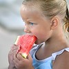 Watermelon at the pool 1
