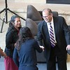 New MSU president's first day