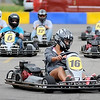 Racers race down a straightaway and into a corner during the seventh running of the MRCI Grand Prix, Saturday.