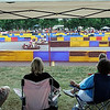 Spectators watch the seventh annual MRCI Grand Prix Saturday.