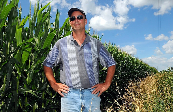 Pat Christman<br /> Lake Crystal farmer Matt Lantz puts on only as much fertilizer as his crop needs, reducing the amount of excess nitrates in the soil that can flow into streams. Lantz believes adjusting his fertilizer use not only benefits state waters, but also saves him money.