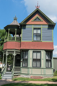 The Wanda Gag House, at 226 North Washington Street in New Ulm, was built in 1894 in the Queen Victorian style. Anton Gag, Wanda Gag's father, could not move into the house until 1895 however until he had saved up enough money. Photo by Jackson Forderer
