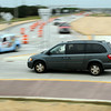 Traffic flows smoothly through the Adams Street-Highway 22 roundabout minutes after it was officially opened to traffic at about 6 p.m., on Friday. Photo by John Cross