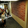 Visitors tour the VINE Adult Community Center following an outside dedication ceremony on Wednesday. Photo by John Cross