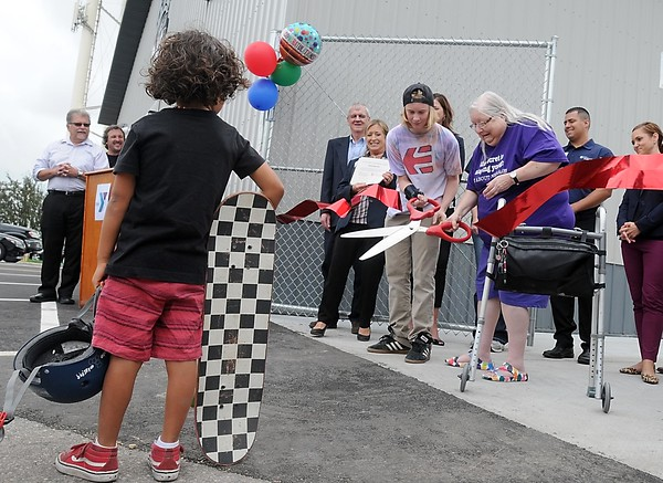Chesley Skate Park grand opening 1