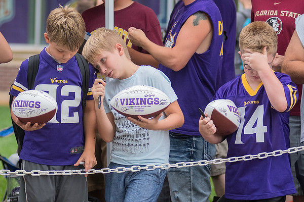 From left, Tarek Tolzman, 10, from Waterville, Aiden Haslip, 12, from Waseca, Wyatt Williams, 8, from Elysian Photo by Jackson Forderer