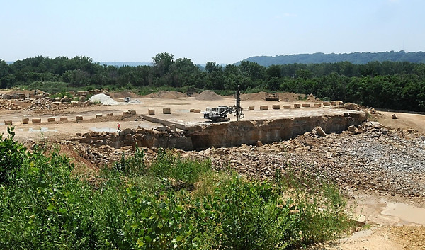 Pat Christman<br /> The Mankato Kasota Stone quarries are largely unseen along Third Avenue though they sit within Mankato.