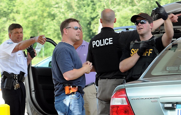 John Cross<br /> Law enforcement personnel from several different agencies assisted in the search.