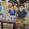 Mary and Rick Hanna will be closing Generations, an antique store on Front St., after being open for 20 years. Rick said they plan to spend some time at the lake in their retirement. Photo by Jackson Forderer