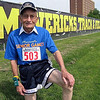 A regrettable hamstring injury didn't deter 92-year-old sprinter Harold Bach from competing at the Minnesota Senior Games on Friday.