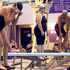 "Athletes competed Saturday in 14 different events in the swimming competition of the 2012 Minnesota Senior Games. Said swimmer George Mitchell, ""I do it for fun."""