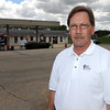 Pat Christman<br /> Jim Anderson, owner of Eagle Express in Eagle Lake, worries about the effects on his business when the main road through town is closed for up to three months this summer for road construction.