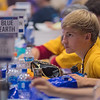"Ethan Kurtz, 19, of Mankato talks with fellow delegates at the DFL State Convention held on Saturday at the Mayo Civic Center. ""I literally just turned 19,"" Kurtz said. Many speakers lauded the younger delegates they saw at the convention, but also hoped they had the patience to go through all of the balloting. Photo by Jackson Forderer"