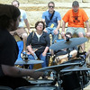 John Cross<br /> Music fans listen to performers at Solstice, Saturday.