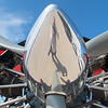 The propeller of the Screamin' Sasquatch jet Waco. Photo by Jackson Forderer