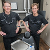 Daniel Osdoba (left) and Eric Page of Oz Family Dentistry. Photo by Jackson Forderer