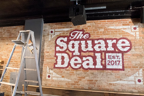 The downtown bar Chopps is changing its name to the Square Deal, which is what it was called before changing its name to Plutos in 1996. The bar will reopen today. Photo by Jackson Forderer