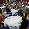 John Cross<br /> Hundreds of residents from south-central Minnesota attended the Project Community Connect to take advantage of a variety of free services ranging from hair cuts to legal advice to free cellphones.