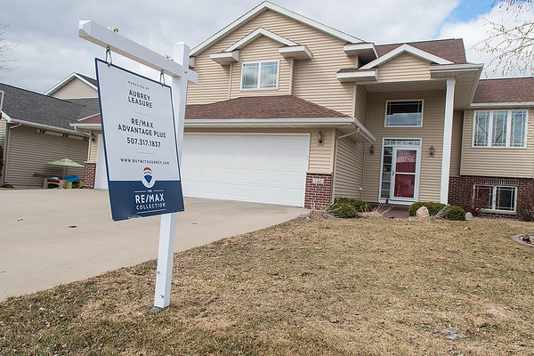 A house for sale on Cheetah Lane in Mankato. Photo by Jackson Forderer