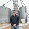Darin Johnson is a 4th generation corn and soybean farmer in Wells, Minn. He lives with his wife Rachel and their 3 kids, and he helps with the family business Johnson Seeds which has roughly 130 customers. Photo by Jackson Forderer
