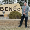 Wade Hensel will be retiring fro Benco Electric in April 2017 after working there for 41 years. He began working for Benco in 1976 as a staff assistant. Benco Electric serves 10 counties in south central Minnesota, including Faribault, Blue Earth, Nicollet and Sibley counties. Photo by Jackson Forderer