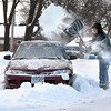 March snowstorm hits Mankato area