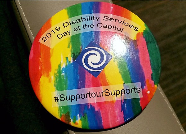 Disability Day button