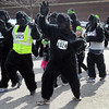 Participants in Saturday's Gorilla Fun Run ran, walked, danced, pranced and rolled down the 2.4 mile course.