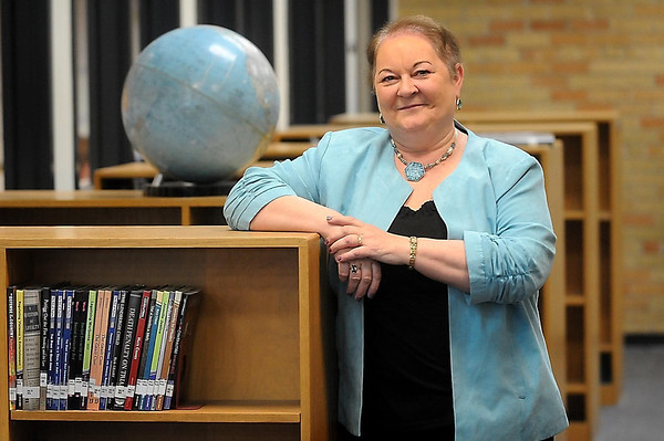 "Virjean Griensewic is the only media specialist left in Mankato Area Public Schools to have worked with a card catalog, she said. ""I really just miss those cards,"" she said."