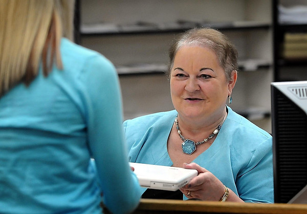 Griensewic is retiring from West High School this year, having been a school librarian/media specialist since the 1970s.