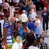 John Cross<br /> Visitors browse the booths and exhibits at the Senior Expo held Tuesday at the Verizon Wireless Center.