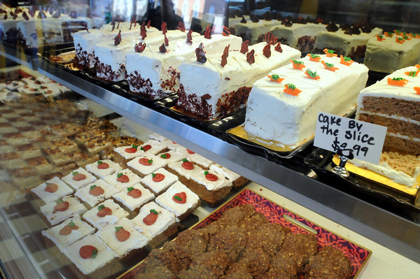 Friesen's Bakery offers cake by the slice. John Cross photo