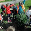 Tree planting at Franklin Elementary 2