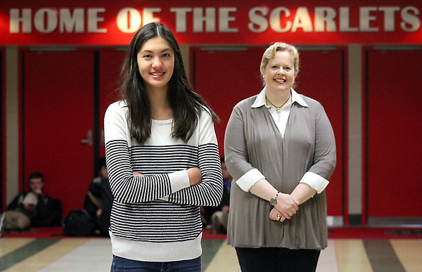 Emily Smith is the winner of The Free Press' Academic Excellence Team competition. One of the teachers who influenced her the most was Tania Lyon, who was her 11th-grade AP Language and Composition teacher. Photo by Robb Murray
