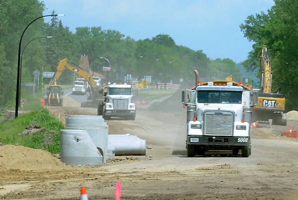 Highway 169 construction 2