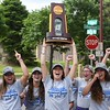 MSU softball welcome home 1