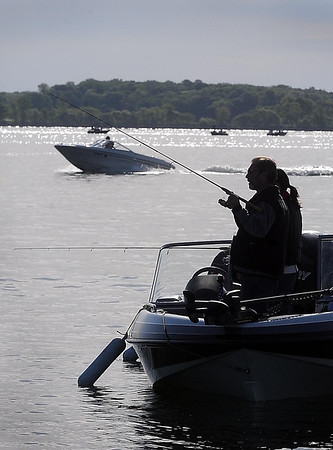 "John Cross<br /> It was a beautiful day for fishing,  though not necessarily for catching on the opening of Minnesota's fishing season which dawned sunny, warm and largely devoid any breeze needed to create a ""walleye chop"" coveted by walleye anglers."