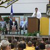 Amanda Dyslin<br /> Kennedy Principal Jason Grovom told his school Thursday how proud he was that the school was named a Minnesota School of Excellence.