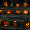 This annual display of jack-o-lanterns is from high school art students in Wakefield, Mass. Both cities of Mankato and North Mankato will accept pumpkins as organic compost. Photo by CNHI