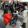 People braved a chilly October wind to sample beer and food at the first Bier on Belgrade Saturday.